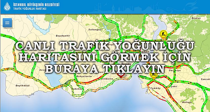 beyikduzu yol trafik yogunluk haritasi